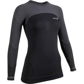 UYN Running Alpha OW Maglietta a maniche lunghe Donna, nero/grigio